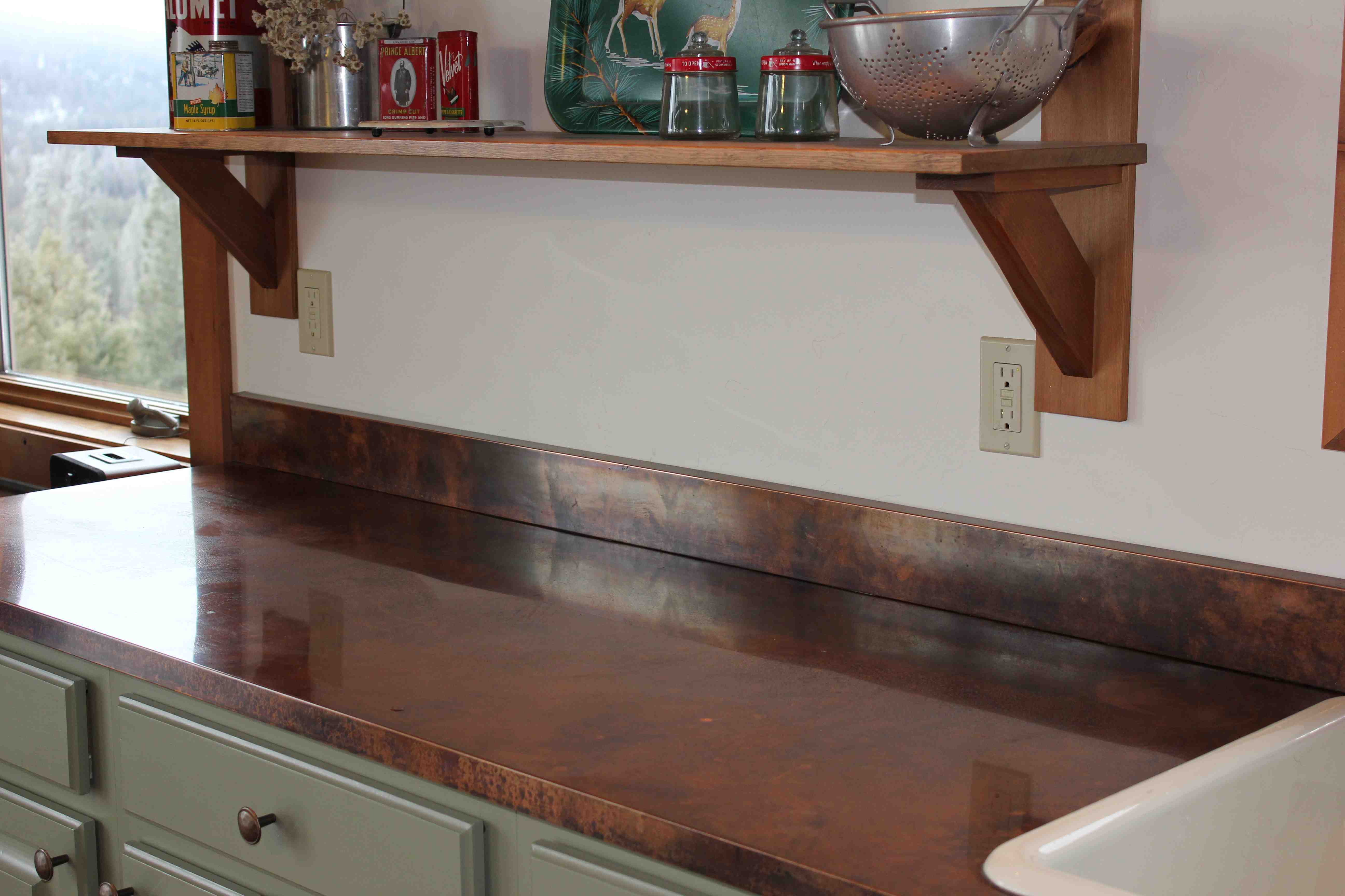 Copper Kitchen Countertops Copper Countertops At Camp More Kerrie More